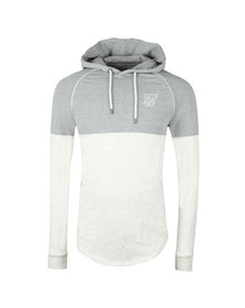Sik Silk Mens Grey Zonal Overhead Track Top