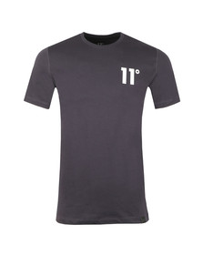 Eleven Degrees Mens Grey S/S Core Tee
