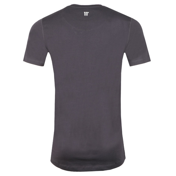 Eleven Degrees Mens Grey S/S Core Tee main image