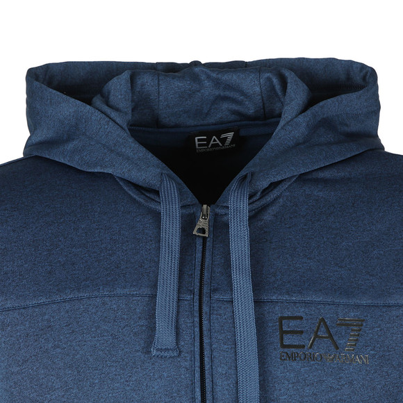 EA7 Emporio Armani Mens Blue Small Logo Tracksuit main image