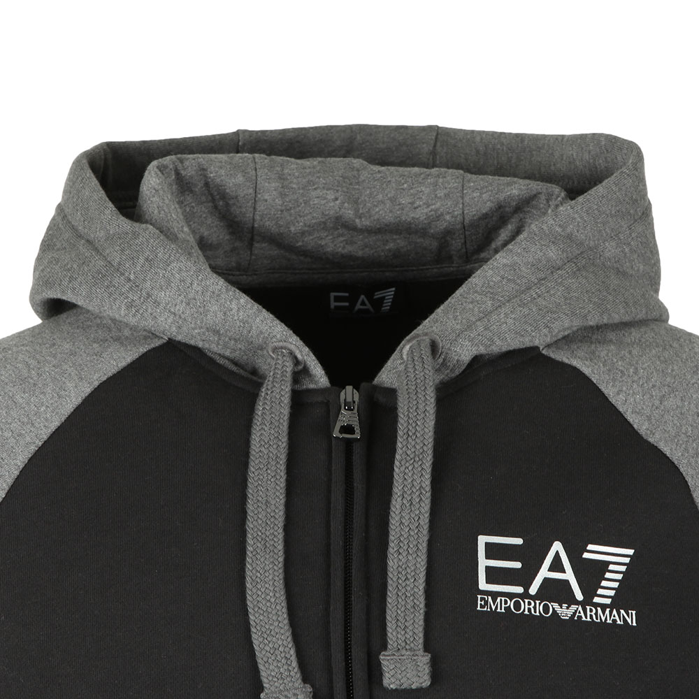 c5ee459c1 EA7 Emporio Armani Two Tone Full Zip Hooded Tracksuit | Masdings