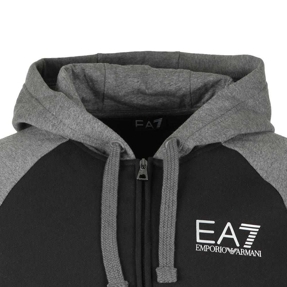 4b59665d7 EA7 Emporio Armani Two Tone Full Zip Hooded Tracksuit | Masdings