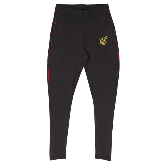 Sik Silk Mens Black Zonal Track Pants main image