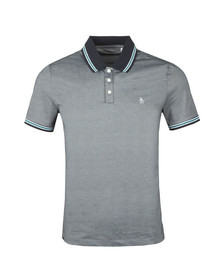 Original Penguin Mens Blue S/S Mercerized Polo