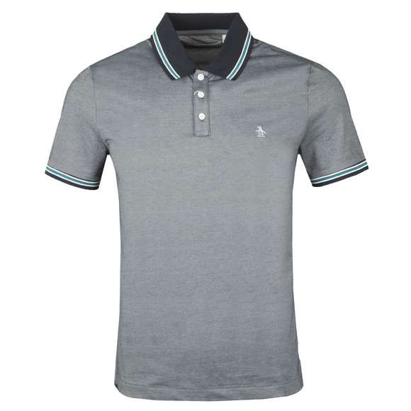 Original Penguin Mens Blue S/S Mererized Polo main image