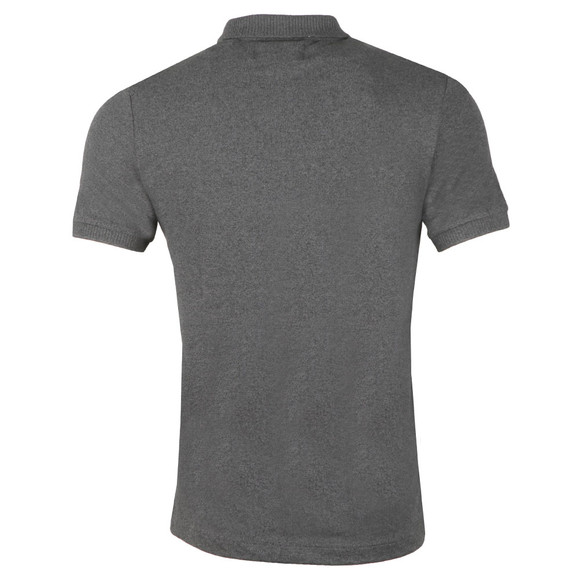 Original Penguin Mens Grey S/S Chunky Rib Polo main image
