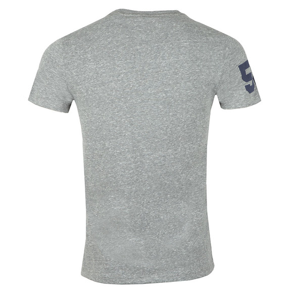 Superdry Mens Grey S/S Goods Duo Essential Tee main image