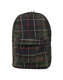 Barbour Lifestyle Mens Green Carrbridge Backpack