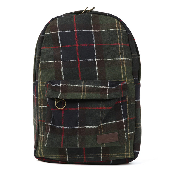 Barbour Lifestyle Mens Green Carrbridge Backpack main image