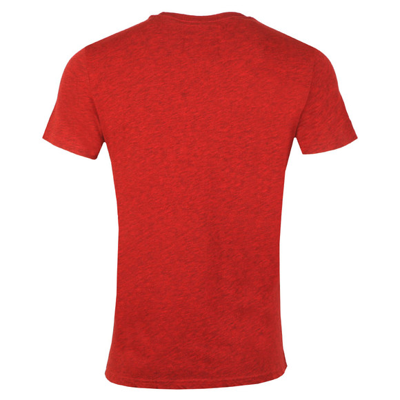 Superdry Mens Red Vintage Logo 1st Tee main image