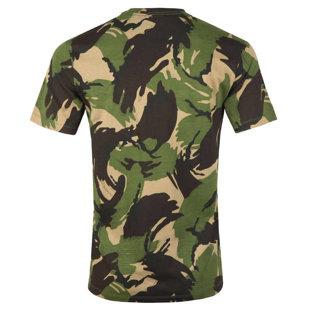 Woven Label Pocket Camo T Shirt main image