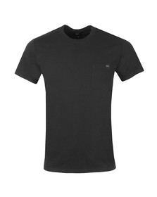 Edwin Mens Black Pocket Crew T-Shirt