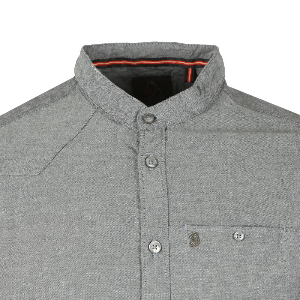L/S Baseline Grandad Collar Shirt main image