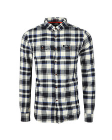 Superdry Mens Blue Winter Washbasket Shirt