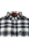 Superdry Mens Blue Winter Washbasket Shirt