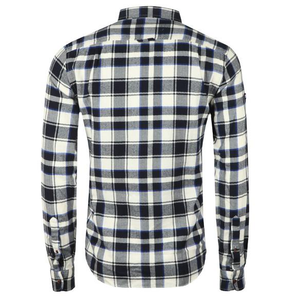 Superdry Mens Blue Winter Washbasket Shirt main image