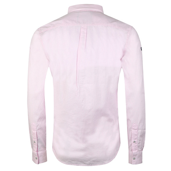 Superdry Mens Pink Premium Button Down LS Shirt main image