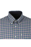 Barbour Lifestyle Mens Blue L/S Bisley Shirt