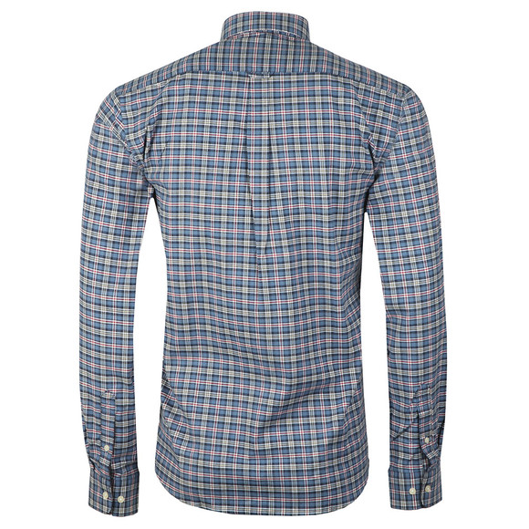 Barbour Lifestyle Mens Blue L/S Bisley Shirt main image