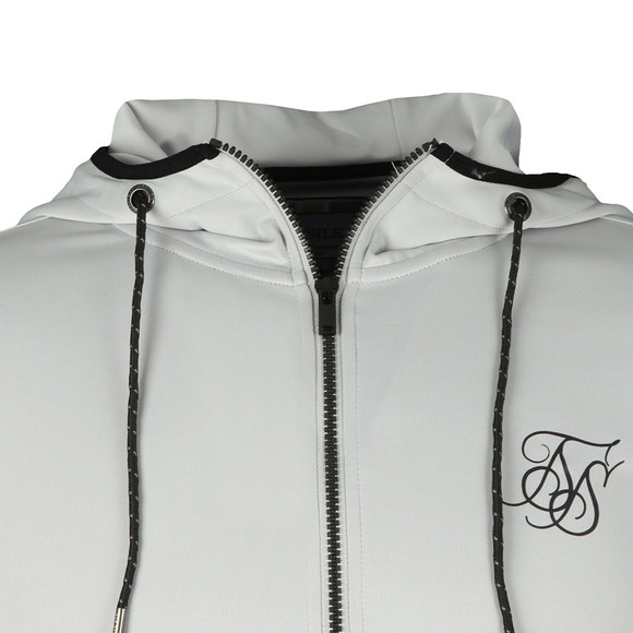 Sik Silk Mens Grey Agility Zip Through Hoodie main image