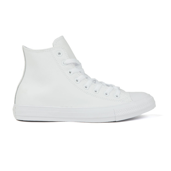 Converse Mens White All Star Leather Hi main image