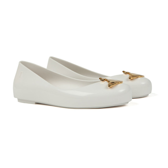 Vivienne Westwood Anglomania X Melissa Girls White Girls Space Love 20 Shoe main image