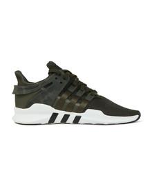 Adidas Originals Mens Green EQT Support ADV Trainer