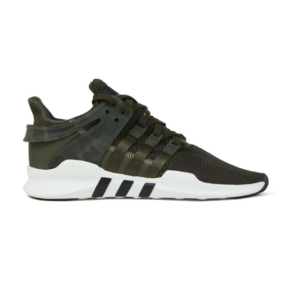 Adidas Originals Mens Green EQT Support ADV Trainer main image
