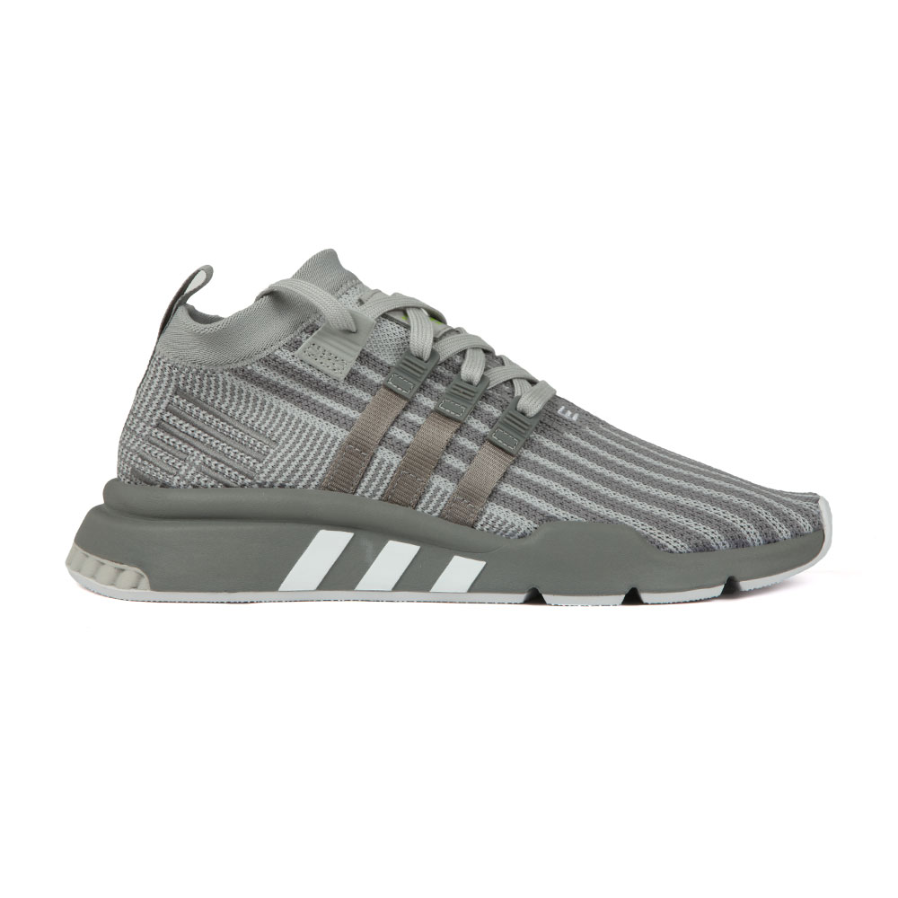 new arrival f658d d17cf Mens Grey EQT Support Mid ADV PK Trainer