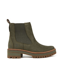 Timberland Womens Green Courmayeur Valley Chelsea Boot