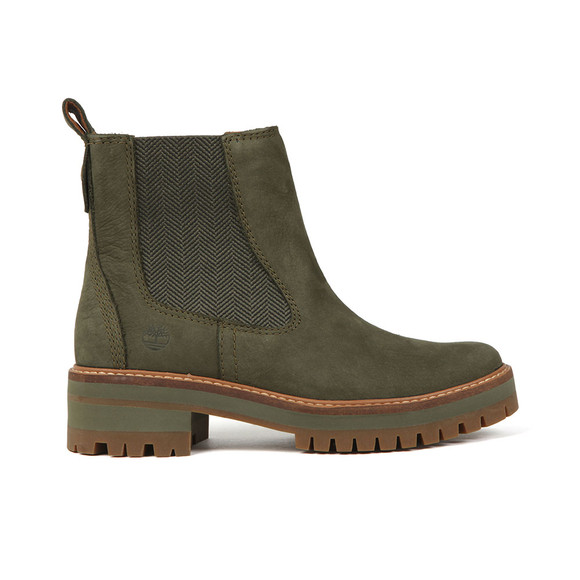 Timberland Womens Green Courmayeur Valley Chelsea Boot main image