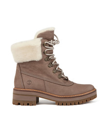Timberland Womens Beige Courmayeur Valley 6 Inch Boot
