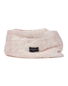 Superdry Womens Pink Clarrie Snood