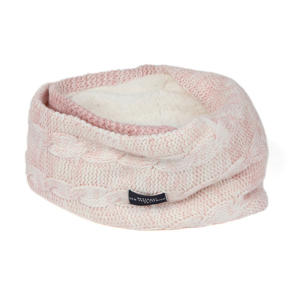 Superdry Womens Pink Clarrie Snood main image