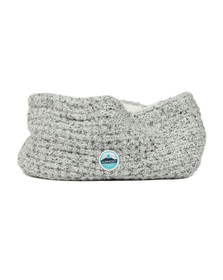 Superdry Womens Grey Clarrie Stitch Snood