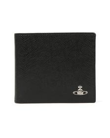 Vivienne Westwood Mens Black Kent Billfold Wallet