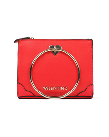 Valentino by Mario Womens Red Aladdin Small Tote
