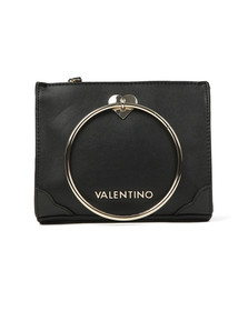 Valentino by Mario Womens Black Aladdin Small Tote