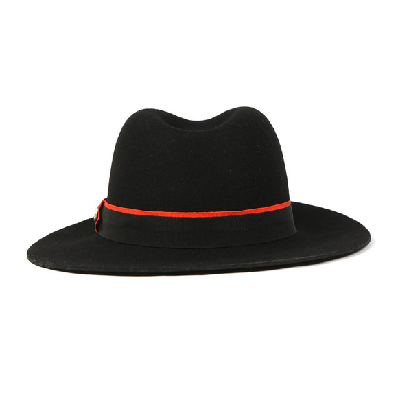 Holland Cooper Womens Black Grayson Trilby Hat main image