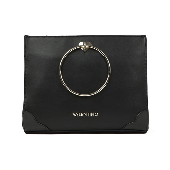 Valentino by Mario Womens Black Aladdin Large Tote main image