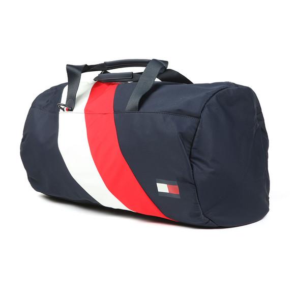 Tommy Hilfiger Mens Blue Duffel Chevron Bag main image