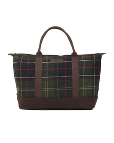 Barbour Lifestyle Mens Red Elgin Holdall