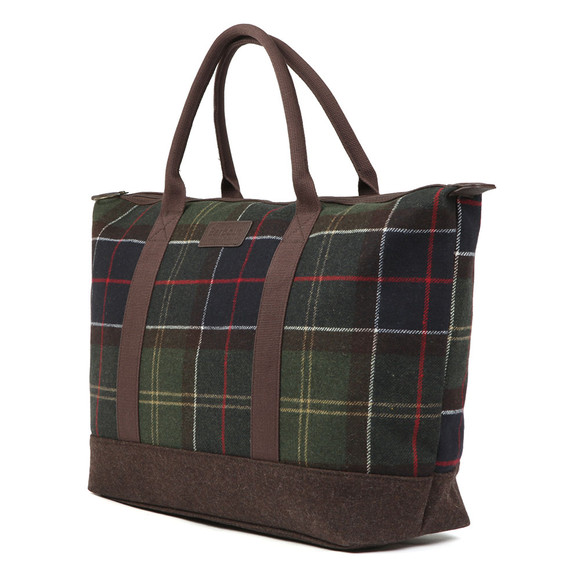 Barbour Lifestyle Mens Green Elgin Holdall main image
