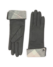 Barbour Heritage Womens Pink Lady Jane Leather Glove