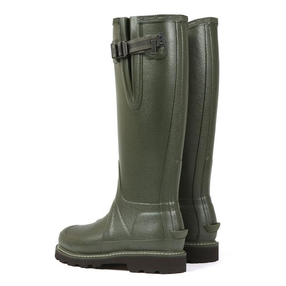 Hunter Womens Green Balmoral 3MM Neoprene Side Adjustable Boot main image