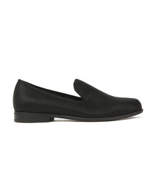 Duke + Dexter Mens Black Pyramid Loafer