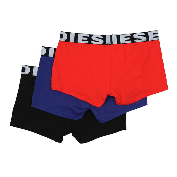Diesel Mens Black Shawn Instant Looks 3 Pack Boxer main image