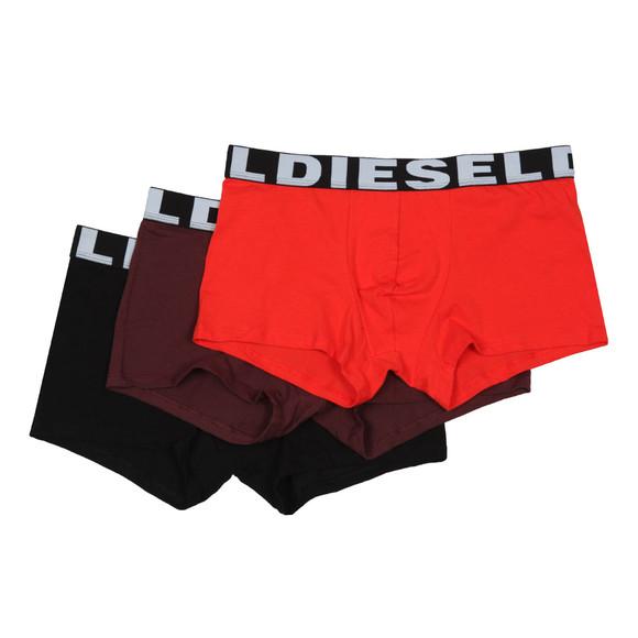 Diesel Mens Black Shawn Instant Looks 3 Pack Boxer main image