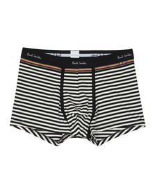 Paul Smith Mens Black Multi Stripe Trunk