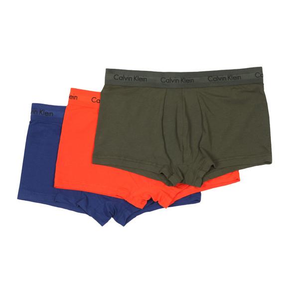 Calvin Klein Mens Orange 3 Pack Low Rise Trunk main image